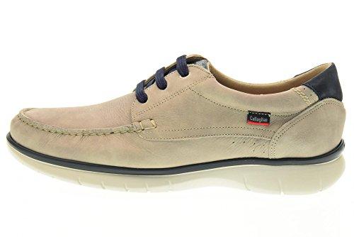 CALLAGHAN 88200 chaussures homme bleu baskets basses Gris