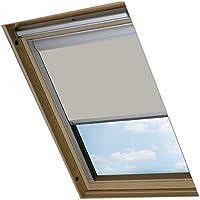 Bloc Skylight Blind Bloque estor para ventanas de techo Velux de CO2, color piedra