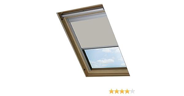 Colore Pietra Bloc Skylight C02 Velux-Tenda Oscurante per finestre