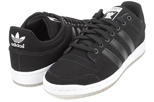 Adidas Top Ten Lo Fashion Sneaker, 7.5 CBLACK/FTWWHT/CBLACK