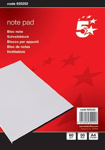 Briefblock CF DIN A4 kariert 60 g/qm Inh.50