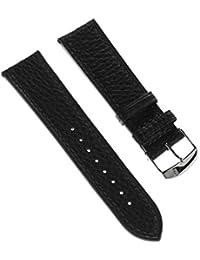 Festina Reloj de pulsera elegante material de la correa piel Negro para Festina F16784, F16783Relojes