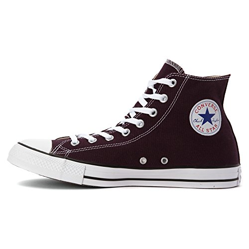 Converse 144826, Femme Sneakers Black Cherry