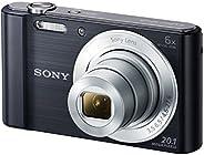 Sony DSC-W810 Digitalkamera (20,1 Megapixel, 6x optischer Zoom (12x digital), 6,8 cm (2,7 Zoll) LC-Display, 26