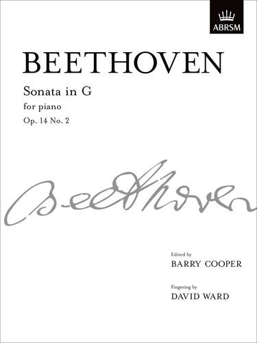 Serie Taste-board (Sonata in G, Op. 14 No. 2: from Vol. I (Signature Series (ABRSM)))