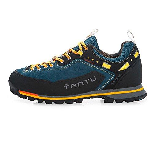 RDJM Scarpe atletiche da uomo scarpe da escursione casual impermeabili all'aperto scarpe da corsa di alpinismo a