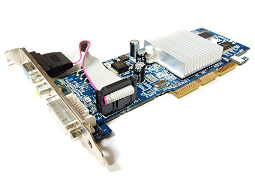 Gigabyte Nvidia GeForce FX5200 128MB DDR DVI-D VGA TV-Out AGP 8x GV-N52128DS-RH (Generalüberholt)