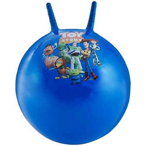 Disney Toy Story Springbälle Für Kinder | Gartenspielzeug Aufblasbares Toy Story 4 Mit Woody, Buzz Lightyear, Rex | Spielzeug Für Draußen | Ab 3 Jahre | 100% Offizielles Produkt