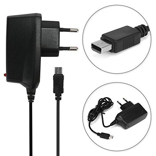 subtel® Qualitäts Ladekabel - 1,20m (1A) kompatibel mit Nintendo Wii U Gamepad (5V / Nintendo System Connector) Ladegerät Netzteil Charger (Nintendo Netzkabel Wii U)