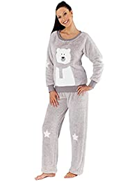 Selena Secrets - Pijama - Estrellas - Manga Larga - para mujer