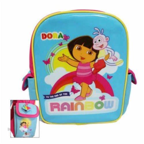 Dora l'exploratrice-Sac à dos avec poche avant/Sac à dos/sac d'école