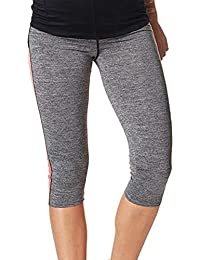 Noppies 66509-C246 Womens Fenna Grey Melange Maternity Sports Pant
