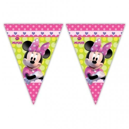 Minnie Bow-Tique Party Flagge Banner Wimpel ()