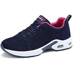 Air Zapatillas de Deportes Mujer Zapatos Deportivos Running Zapatillas para Correr Ligero y con Estilo BlueA 39 EU