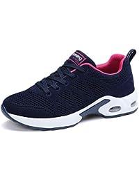 Air Zapatillas de Deportes Mujer Zapatos Deportivos Running Zapatillas para Correr Ligero y con Estilo 34-43 EU