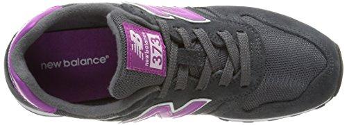 New Balance WL373 B, Baskets mode femme Gris (Sgl Grey)