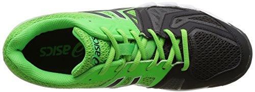Asics Herren Gel Blade 5 Handballschuhe Vert (Green Gecko/Black/Dark Grey)