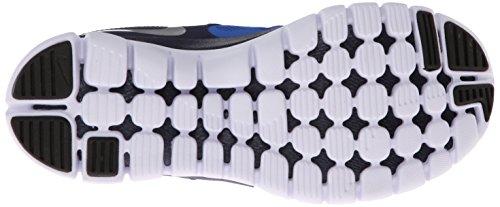 Nike Flex 2014 Rn Bg Scarpe Sportive, Ragazzo Hypr Cblt/Mtllc Slvr-Mdnght Nv