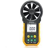 anémomètre numérique portable haute précision portatif Vitesse du vent Volume d'air vent Température Wind Test