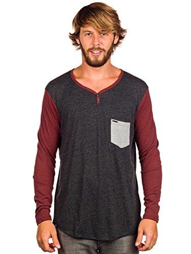 Herren Langarmshirt Element Renwick T-Shirt LS Onyx Heather
