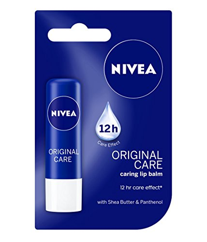 Nivea Lip Balm, Original Care, 4.8 g