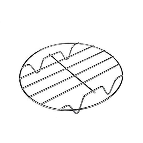 Owikar 2Pack Kochen Rack Multifunktions-Edelstahl Dämpfen Kühlung Fritteuse Rack Backen Ständer Halterung Kochgeschirr Passform für Air Fryer Instant Pot Schnellkochtopf Canning Küche Zubehör