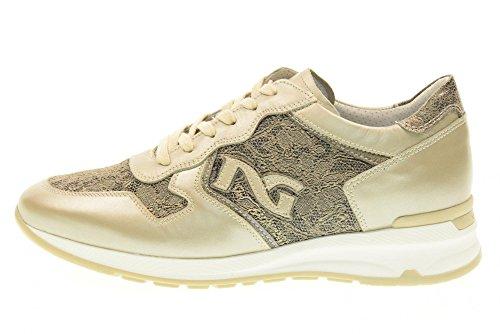 NERO GIARDINI scarpe donna sneakers basse P717043D/505 Savana