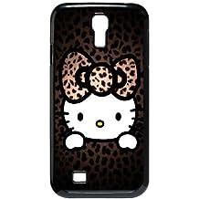 Hello Kitty B1C18X8MO funda Samsung Galaxy S4 9500 funda caso X5414Q negro