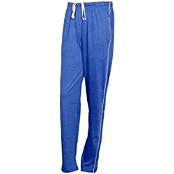 IndiWeaves Women Premium Cotton Lower with 1 Zipper Pocket and 1 Open Pocket(Pack of 1)_Blue-42