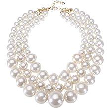 l'ultimo f9026 3ec80 Amazon.it: collana perle grandi - Ammissibili di spedizione ...