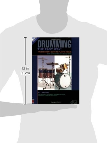 Tom Hapke: Drumming The Easy Way] Beginner's Guide (Book and CD) (Book & CD)