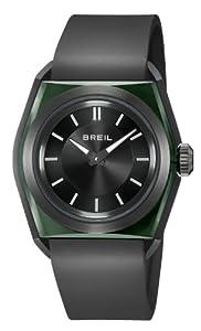 Reloj Breil TW0981 de cuarzo para hombre, correa de silicona color negro de Breil