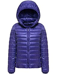 WJP mujeres ultra ligero de la chaqueta poco voluminoso abajo Outwear amortiguar por la chaqueta W-2072