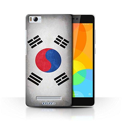 Stuff4® Hülle/Case für Xiaomi Mi 4i / Korea/Koreanische Muster/Flagge Kollektion