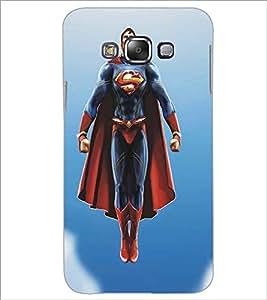 SAMSUNG GALAXY E7 SUPERHERO Designer Back Cover Case By PRINTSWAG