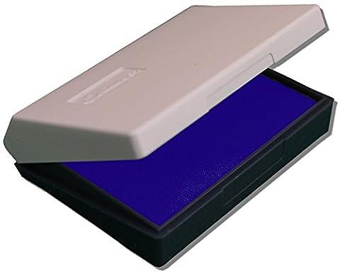 Stempelkissen groß blau 70 x 110mm