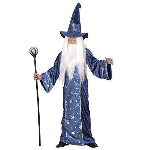 Widmann - Kinderkostüm Zauberer, 116 cm (Magic Motto Party Kostüm)