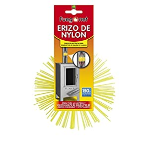 MASSÓ 008820 Erizo deshollinador Nylon 150mm, Ø 150