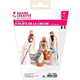 Graine Créative Stampi di Lattice per Gesso - Figurine Culla di Natale