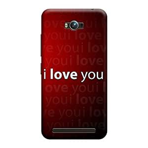Digi Fashion Designer Back Cover with direct 3D sublimation printing for Asus Zenfone Max