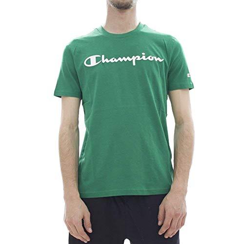 Patch Crewneck T-shirt (Champion Crewneck T-Shirt)