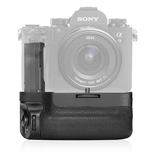 Neewer Vertikaler Batteriegriff für Sony A9 A7III A7RIII Kameras, Ersatz für Sony VG-C3EM, funktioniert nur mit NP-FZ100-Akku (Akku nicht enthalten)