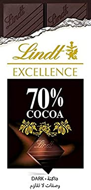 Lindt Excellence 70% Cocoa وصفات لا تقاوم