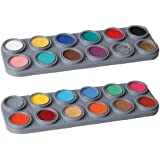 Grimas Water Make-up, 24-Farben-Palette