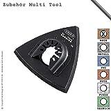 Schleifteller Schleifplatte Klett 80mm für Multifunktionswerkzeug Multi Tool