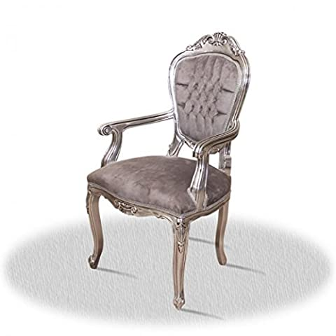 Chaise baroque Louis XV rocaille de style antique AlCh0024ASiSi