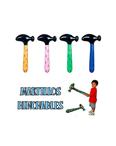 10 martillos hinchables artículos de Fiesta