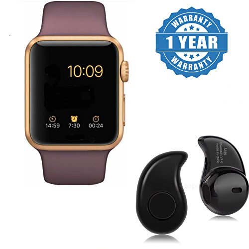Captcha (Top Selling) CT08 Smart Watch with Sim/Memory Card Slot, Camera (One Year Warranty) For Men/Woment/Kids with FREE GIFT OFFER (S530)