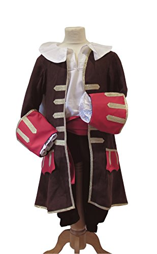 Pirate Des Kostüm Caraibes - Pouce et Compagnie PC0232-Pirat-Braun