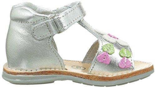 Minibel Kelly Baby Mädchen Lauflernschuhe Silber - Argent (70 Argent)